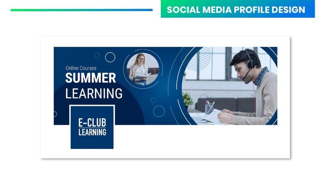 Custom Social Media Profile Design Example 2 scaled