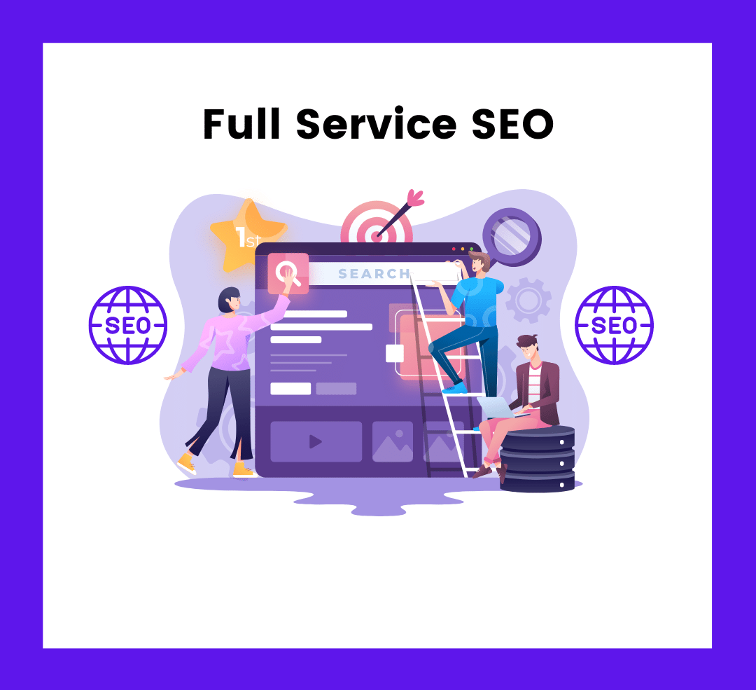 Start Ranking on Search Engines With Full Service SEO